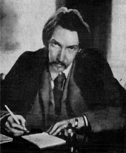 Robert Louis Stevenson author of Strange Case of Dr. Jekyll and Mr. Hyde
