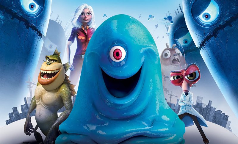 Monsters vs Aliens - The Blob - 2009