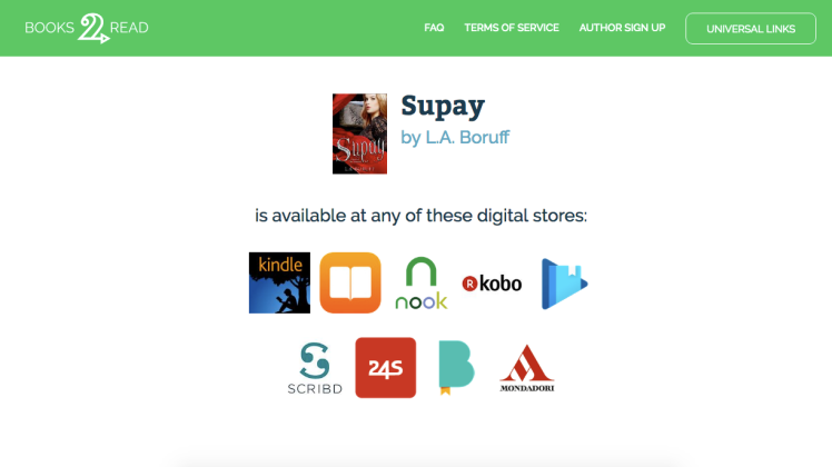 Supay by L.A. Boruff - Books 2 Read
