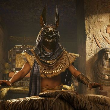 Anubis from Assassin's Creed Origins by Ubisoft