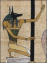Anubis from Ancient Egyptian Mythology
