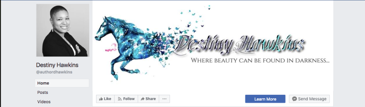 Follow Destiny Hawkins Facebook Page!