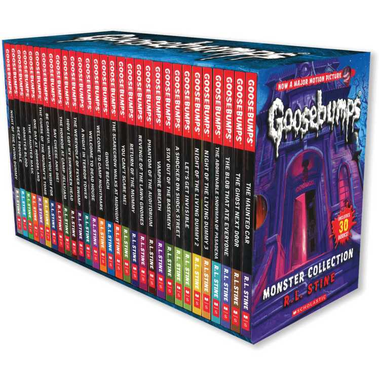 Goosebumps series by R.L. Stine