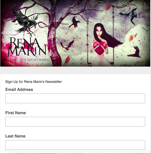 Subscribe to Rena Marin's Newsletter!