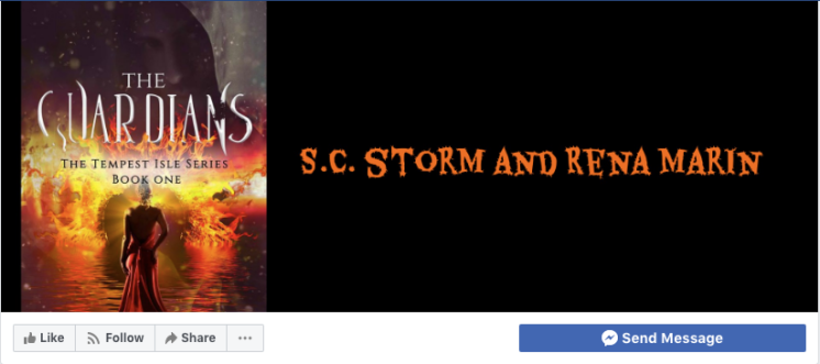 Follow S.C. Storm & Rena Marin on Facebook!