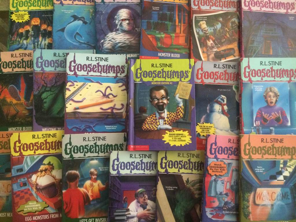Goosebumps Novels by R.L. Stine
