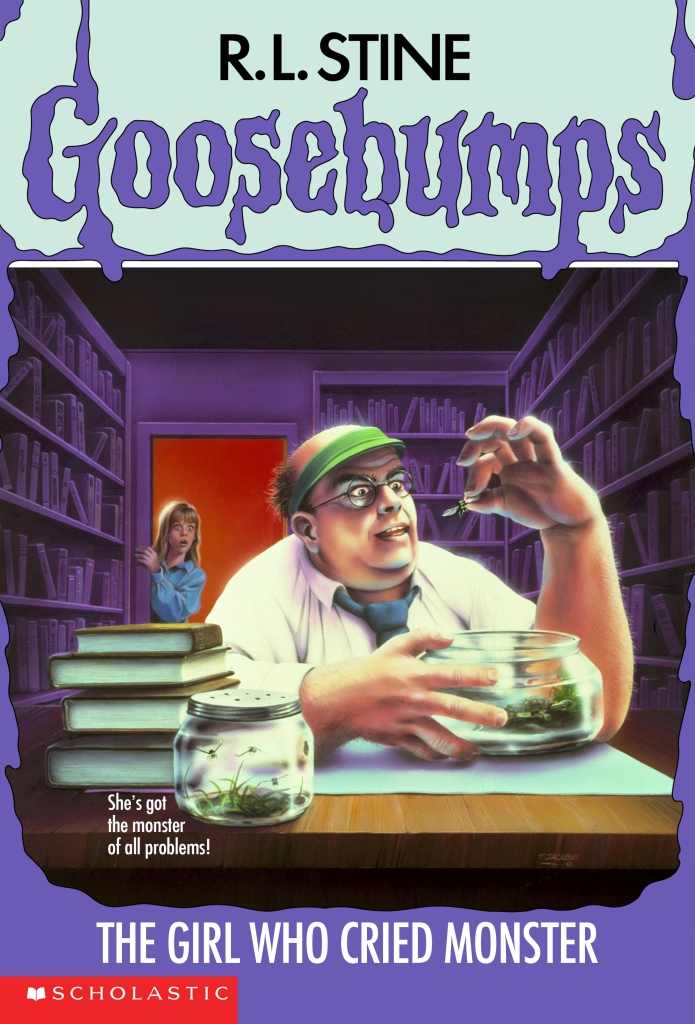 GOOSEBUMPS - The Girl Who Cried Monster by R.L. Stine