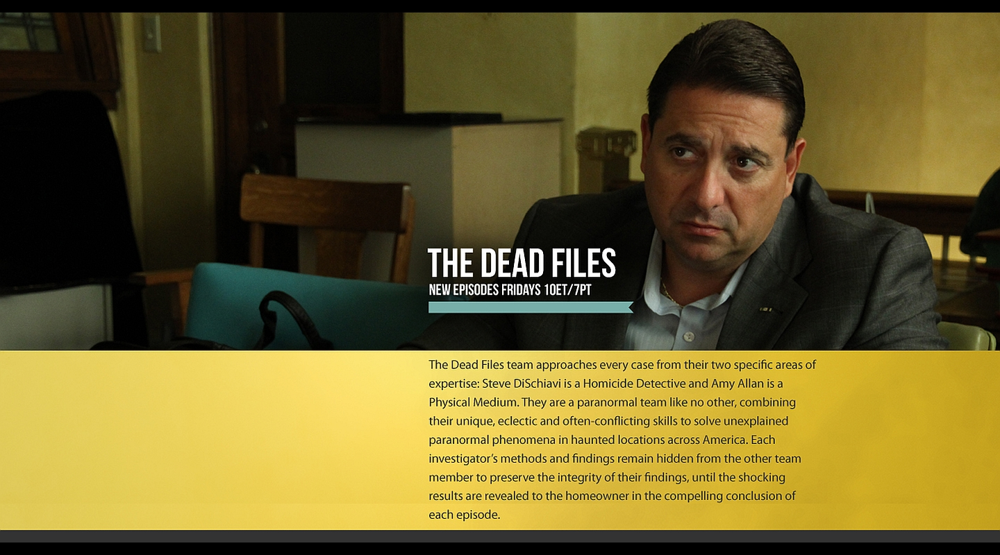 Watch The Dead Files on Travel Channel
