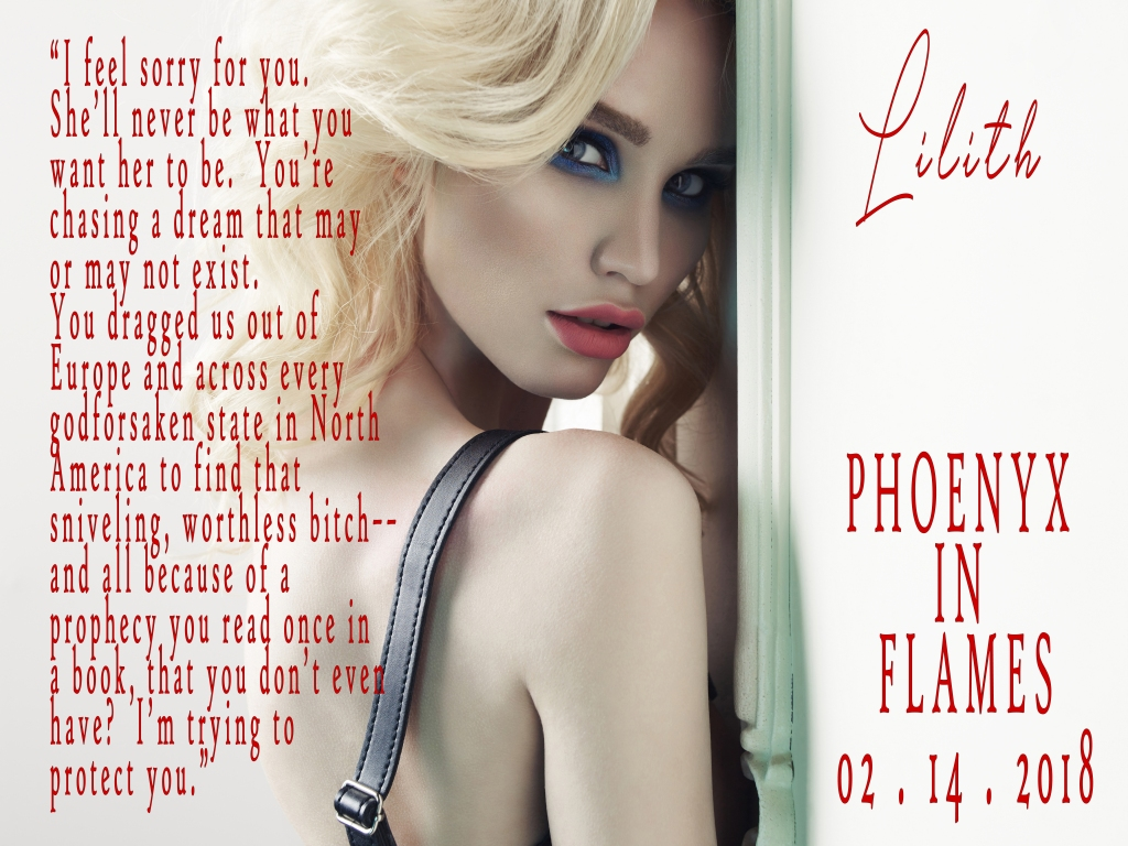 Phoenyx in Flames by Daisy St. James