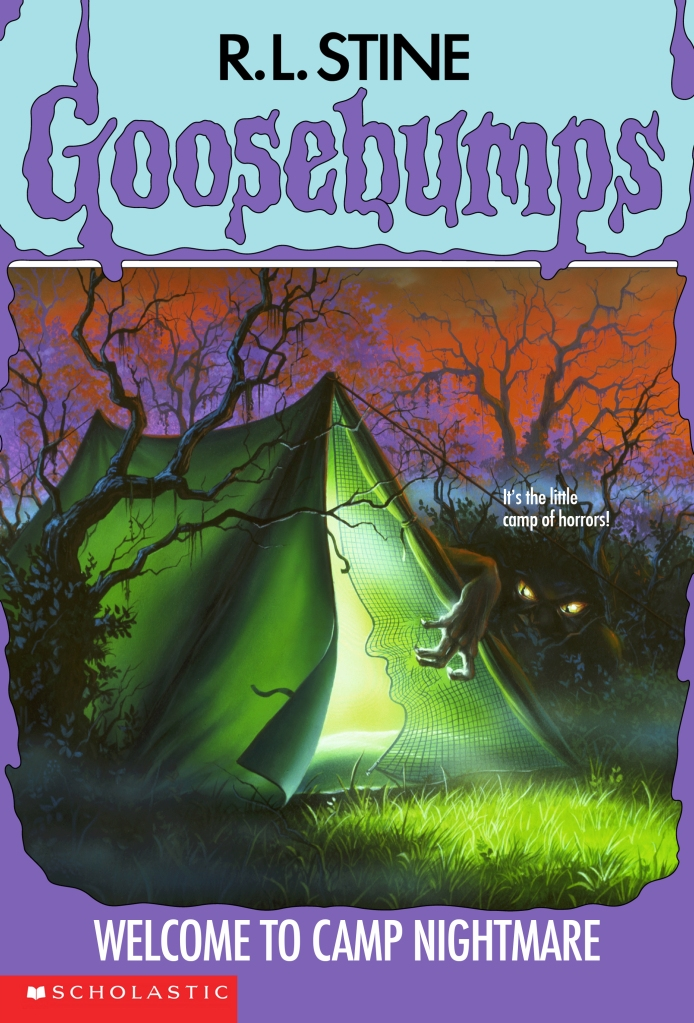 GOOSEBUMPS - Welcome To Camp Nightmare by R.L. Stine
