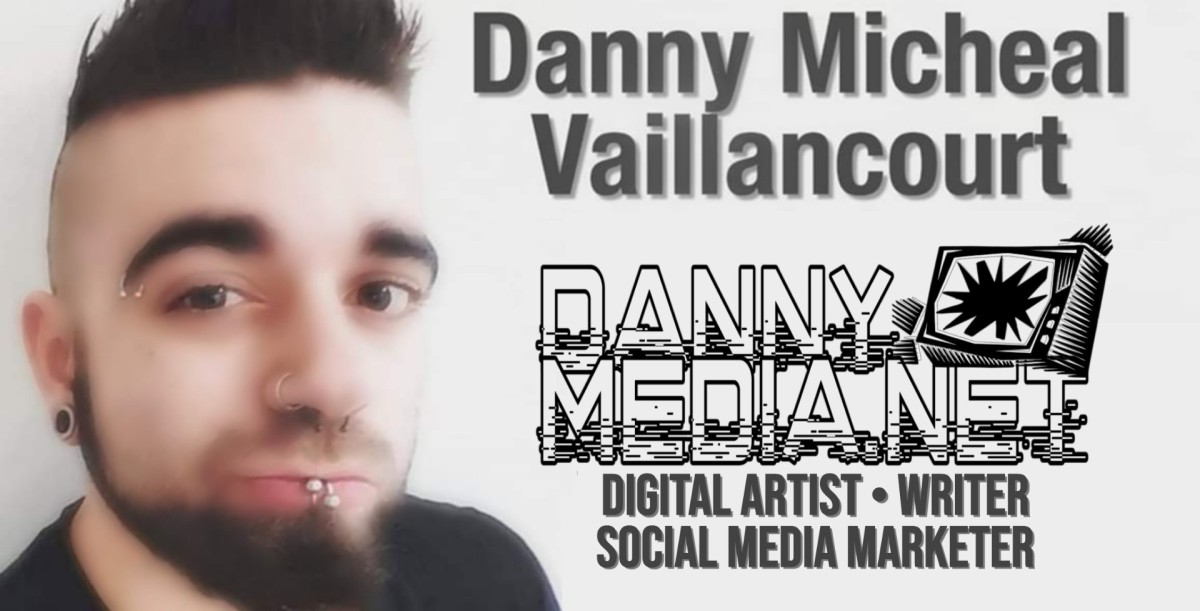 The Macabre Art of a Big Heart Artist, Danny Micheal Vaillancourt