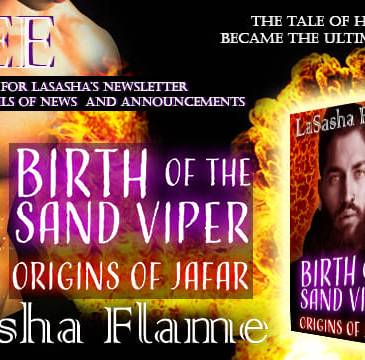 Birth of the Sand Viper - Origins of Jafar by LaSasha Flame