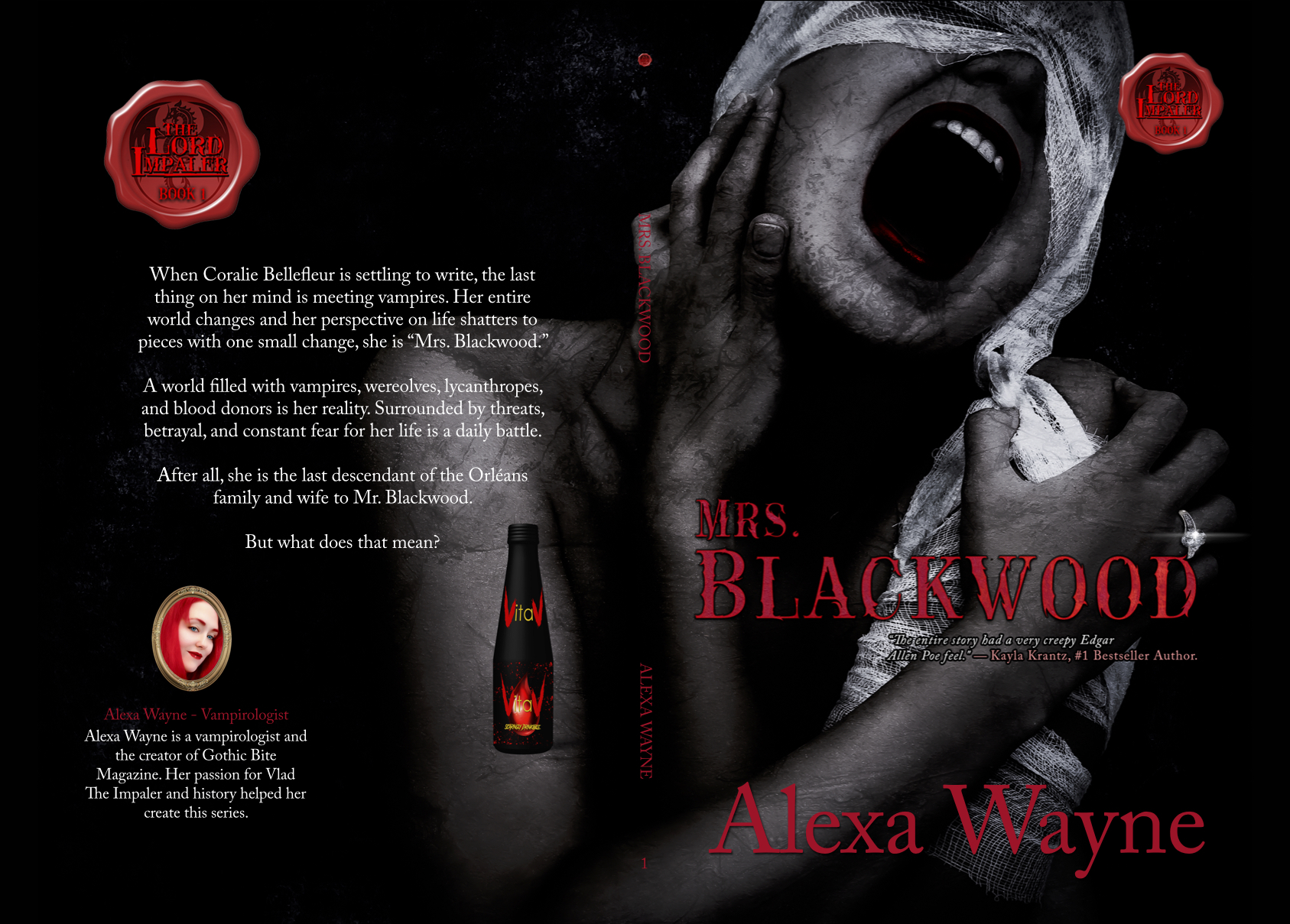 The Lord Impaler Series - Book 1 - Mrs. Blackwood by Alexa Wayne aka Arielle Lyon