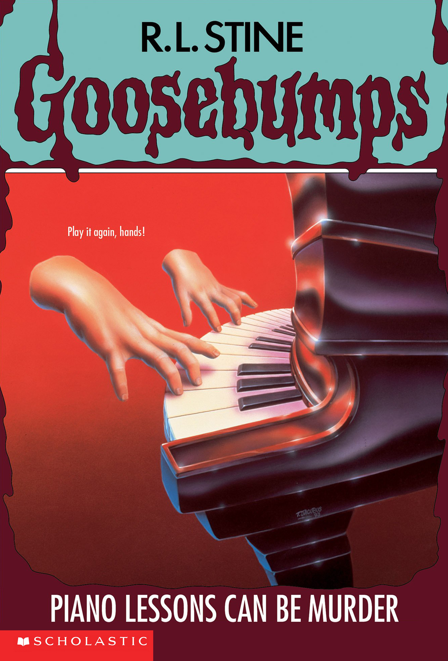 Goosebumps - Piano Lessons Can Be Murder by R.L. Stine