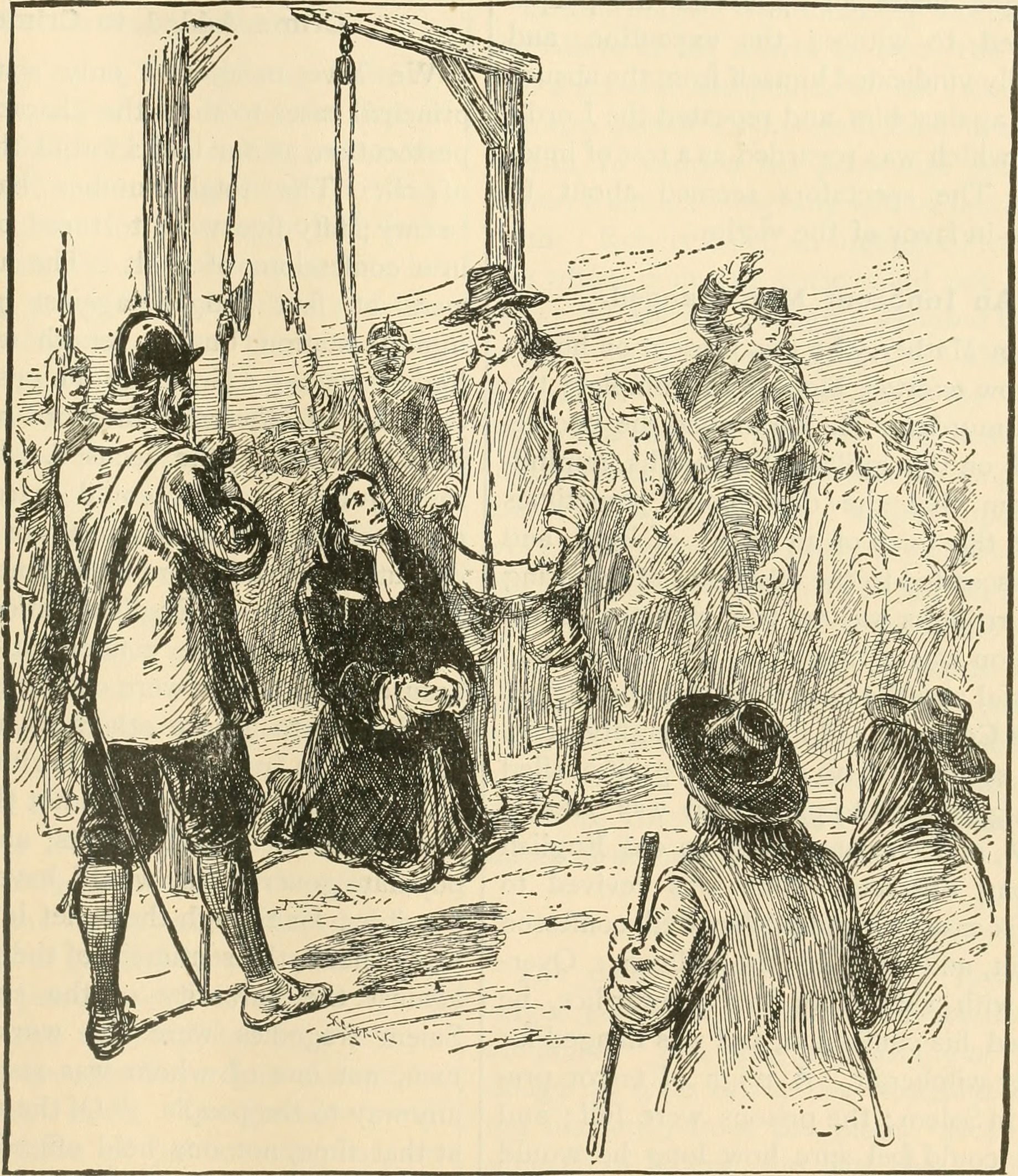 Execution of George Burroughs