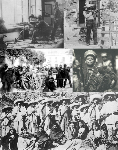 Collage Revolución Mexicana — The Mexican Revolution Collage